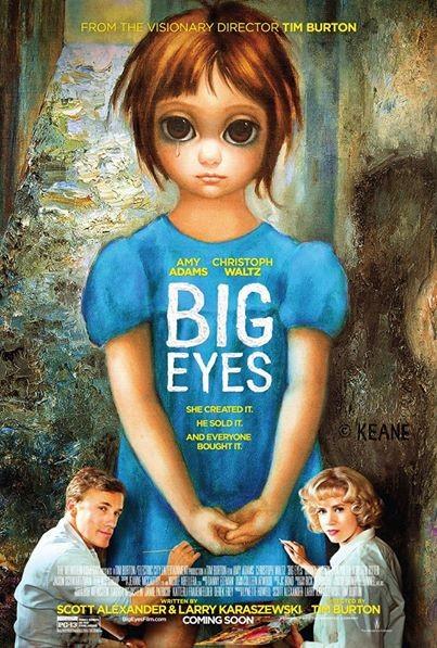 BIG-EYES-premiere-affiche-du-nouveau-Tim-Burton-45445 Jessica Chastain