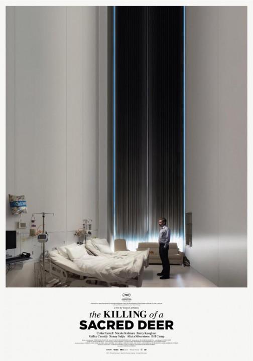 MISE A MORT DU CERF SACRÉ: une belle affiche pour le Yorgos Lanthimos en compétition à Cannes